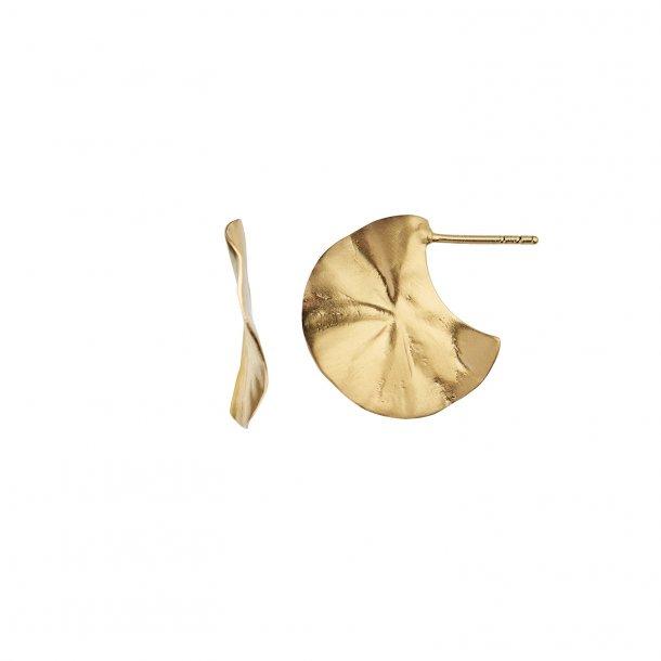 Stine A - La Feuille Creol Earring