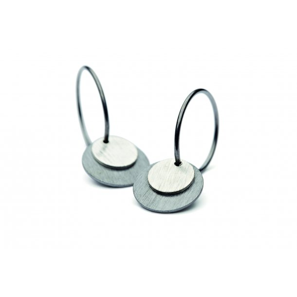 Pernille Corydon - Small Coin Earring