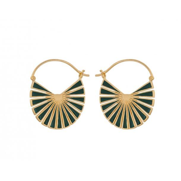 Pernille Corydon - Flare Green Earrings