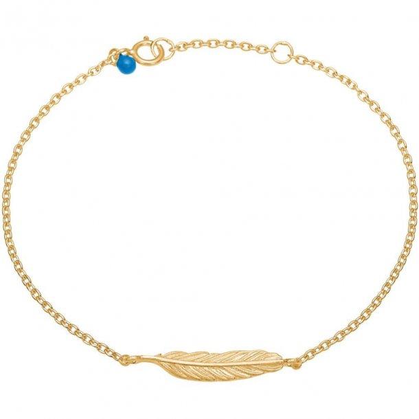 Enamel - Feather Bracelet