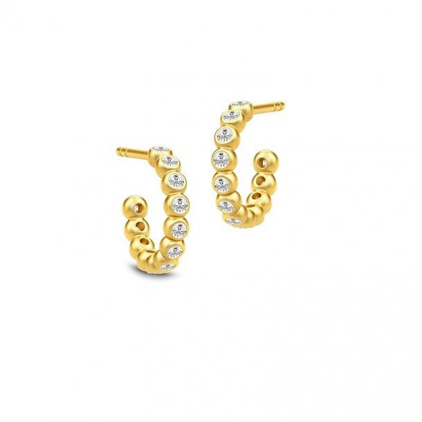 Julie Sandlau - Grace Mini Hoop øreringe