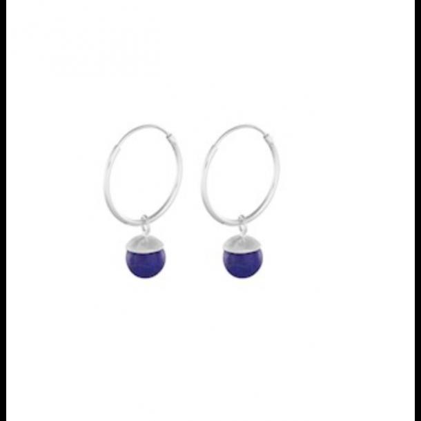 Pernille Corydon - Lapis Lazuli Hoops